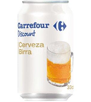 Carrefour Discount Cerveza 33 cl