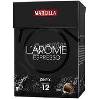 L'Arôme Espresso Marcilla Capsulas Onyx Noir 70u