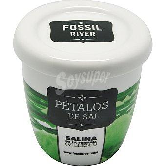 SAL FOSSIL Pétalos de sal Salina de la Fortuna (villena) Tarro 150 g