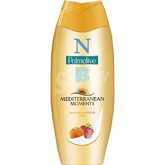 Palmolive gel de baño Mediterranean Moments con Albaricoque de Italia y Fresa  botella 500 ml