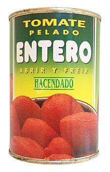 Hacendado Tomate natural entero pelado Bote 410 g escurrido 240 g