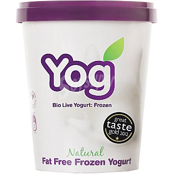 YOG Yogur helado natural Tarrina 500 ml