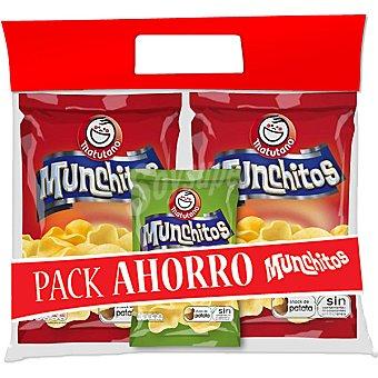 Matutano Snack pack 2 bolsa 70 g + Munchitos receta campesina bolsa 30 g Pack 2 bolsa 70 g