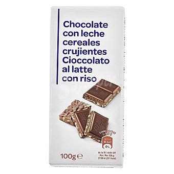 Carrefour Chocolate crujiente 100 g