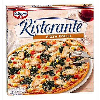 Dr. Oetker Pizza de pollo Ristorante 355 Gramos
