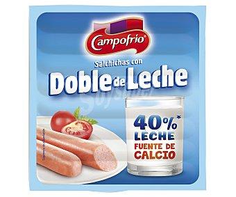 Campofrío Salchichas cocidas tipo Frankfurt con doble de leche 140 g