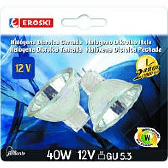 Dicroica Gu5.3 50w Bl2.2000