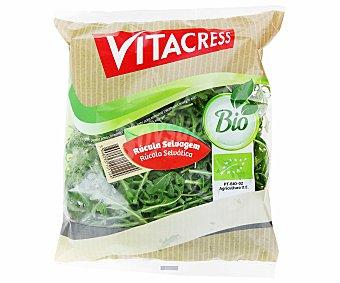 Vitacress Rúcula Selvátiva Ecológica Bolsa de 100 Gramos