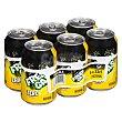 Limon con gas zero Lata pack 6 x 330 ml - 1980 ml Hacendado