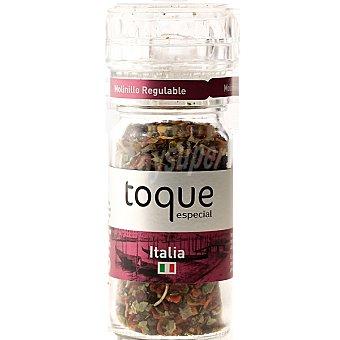 Toque Molinillo de especias estilo Italia Envase 43 g
