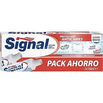 Signal Pasta dentífrica protección anticaries 2 tubos de 100 ml