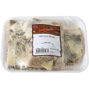 Consabor Costilla salada peso aproximado Bandeja 400 g