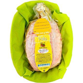 Buen Menú Pollo relleno de turrón Xixona peso aproximado bandeja 1,6 kg