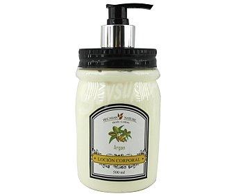 Becasan nature Loción corporal con aceite de argán y práctico dosificador 500 ml