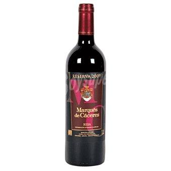 MARQUES DE CACERES vino tinto reserva D.O. Rioja botella 75 cl