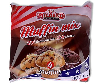 Mildred Muffins de vainilla y chocolate 300 gr