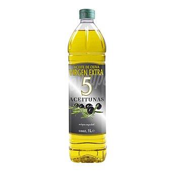 5 Aceitunas Aceite de oliva virgen extra 1 l