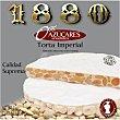 Torta de turrón duro con almendra Marcona 0% azúcares añadidos estuche 200 g Estuche 200 g 1880