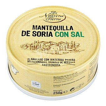 De nuestra tierra Mantequilla de Soria con sal 250 g