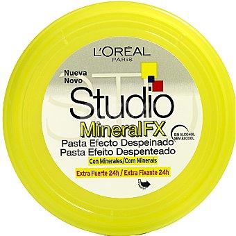 STUDIO LINE Mineral FX pasta efecto despeinado con minerales extra-fuerte 24h Tarro 75 ml