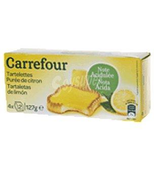 Carrefour Tartaletas de limón 127 g