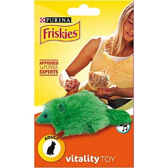 Friskies Purina Juguete Vitality Toy para gatos adultos modelo ardilla con sonido 1 unidad 1 unidad