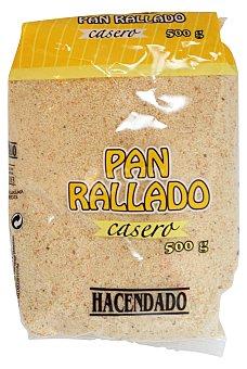 Hacendado Pan rallado casero Paquete 500 g