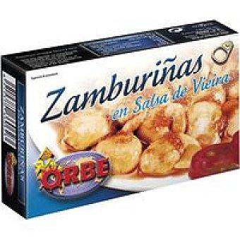 Orbe Zamburiñas en salsa vieira Lata 113 g