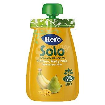 Hero Bolsita de fruta (pera, plátano y maíz) a partir de 4 meses solo 100 g