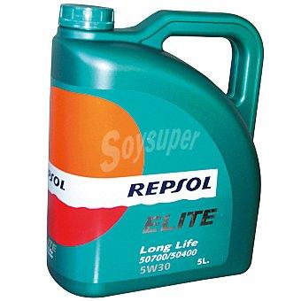REPSOL Elite 5W30 aceite de motor long life 50700/50400 5W30 bidón 5 l