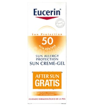 Eucerin Pack Cream-Gel Allergy SPF50 + Regalo After Sun Eucerin 150ml 150 ml