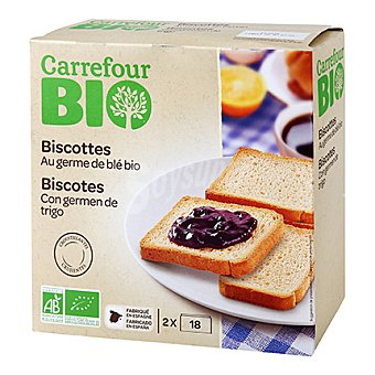 Carrefour Bio Biscotes normales 300 g