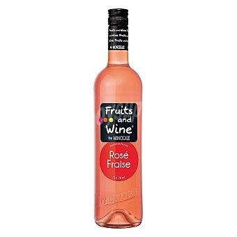 Fruits & Wine Vino rosado de fresa 75 cl
