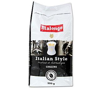 Malongo Café grano natural Italian Style 500 Gramos