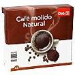 Café molido natural paquete 2 x 250 gr DIA