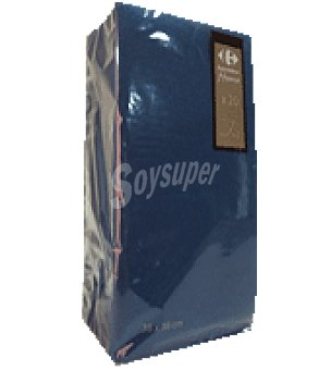 Carrefour Servilletas 38x38 cm 2 capas azul 20 ud