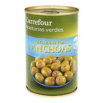 Carrefour Aceituna rellena de anchoa baja en sal 130 g