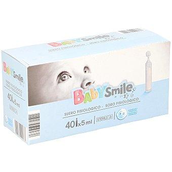 Baby Smile Suero fisiologico dosis indivuales 40 unidades
