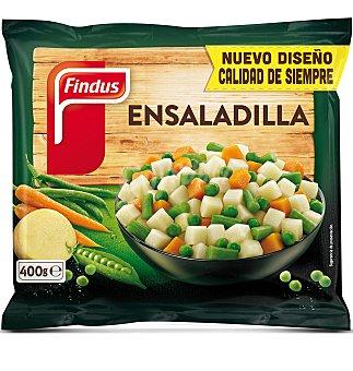 FINDUS Ensaladilla de patata, zanahoria, judía verde redonda y guisantes 400 Gramos
