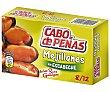 Mejillones en escabeche de las rías gallegas 8-12 piezas Lata 69 g neto escurrido Cabo de Peñas