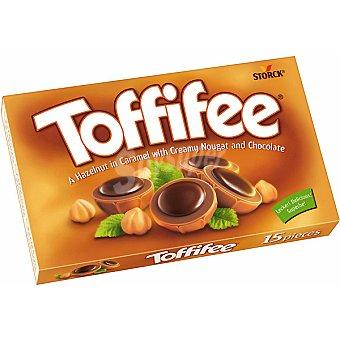 TOFFIFEE Avellana envuelta en caramelo con crema de chocolate caja  125 g