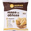 Obleas para empanadilla sin gluten, sin huevo, sin leche y sin aceite de palma Envase 290 g 8 unidades Adpan