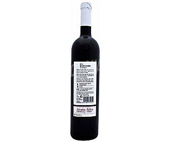 ROUA MEDITERRANEA Vino tinto selección especial con denominación de origen Binissalem Mallorca Botella de 75 centilitros