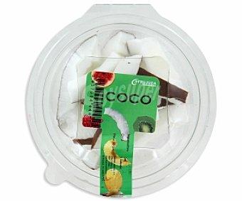 Frujuca Coco troceado Tarrina de 80 Gramos