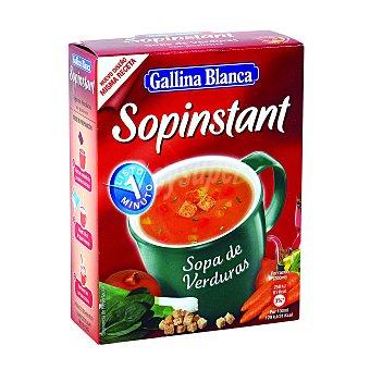 Sopinstant Gallina Blanca Sopa de verduras 3 sobres Estuche 60 g