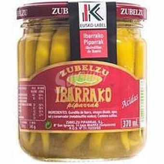 Zubelzu Guindillas de Ibarra extra Eusko Label Frasco 120 g