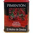 pimentón picante lata 70 g EL MOLINO DE GREDOS