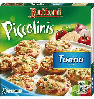 Buitoni Piccolinis atun 270 GRS