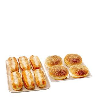 SABOR Pan de hamburguesa queso 4 u