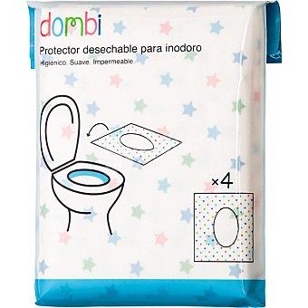 Dombi Protector desechables para inodoro 4 unidades
